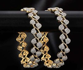 Vogue Crafts & Designs Pvt. Ltd. manufactures and exports diamond and gold jewelry bangles at wholesale prices