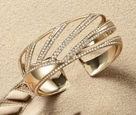 Vogue Crafts & Designs Pvt. Ltd. manufactures and exports diamond and gold jewelry cuffs at wholesale prices