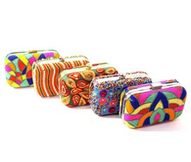 Vogue Crafts & Designs Pvt. Ltd. manufactures and exports fashion accessories clutches at wholesale prices