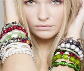 Vogue Crafts & Designs Pvt. Ltd. manufactures and exports fashion jewelry bracelets at wholesale prices