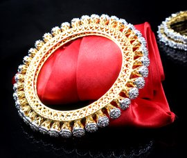 Vogue Crafts & Designs Pvt. Ltd. manufactures and exports imitation jewelry bangles at wholesale prices