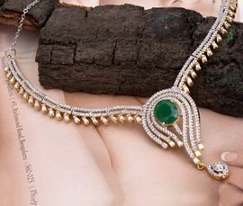 Vogue Crafts & Designs Pvt. Ltd. manufactures and exports imitation jewelry necklaces at wholesale prices