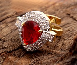 Vogue Crafts & Designs Pvt. Ltd. manufactures and exports imitation jewelry rings at wholesale prices