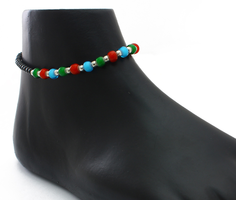 Vogue Crafts & Designs Pvt. Ltd. manufactures Beaded String Anklet at wholesale price.