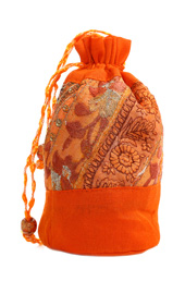 Orange Potli Bag