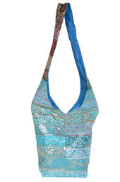 Vogue Crafts and Designs Pvt. Ltd. manufactures The Blue Bucket Bag at wholesale price.