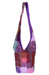 Vogue Crafts and Designs Pvt. Ltd. manufactures Patchwork Jhola Bag at wholesale price.