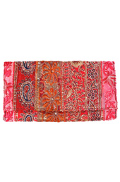 Vogue Crafts and Designs Pvt. Ltd. manufactures Embroidered Clutch Bag at wholesale price.