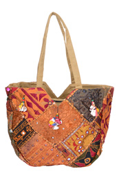 Vogue Crafts and Designs Pvt. Ltd. manufactures Gujarati Patch Work Bag at wholesale price.