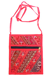 Vogue Crafts and Designs Pvt. Ltd. manufactures Pink Cross Body Bag at wholesale price.