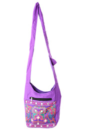 Vogue Crafts and Designs Pvt. Ltd. manufactures Mirror work Cross-body Bag at wholesale price.