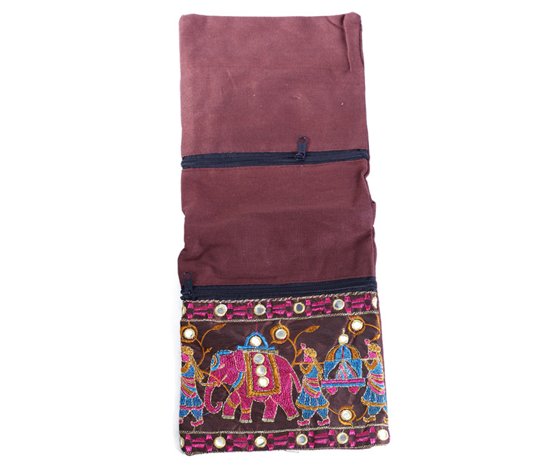 Vogue Crafts & Designs Pvt. Ltd. manufactures Haathi Cross-body Bag at wholesale price.