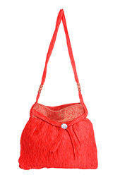 Satin and Zari Work Bag