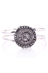 Vogue Crafts and Designs Pvt. Ltd. manufactures Dome Adjustable German Silver Bangle at wholesale price.