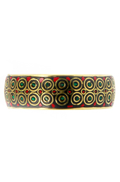 Vogue Crafts and Designs Pvt. Ltd. manufactures Dotted Multi-color Bangle at wholesale price.