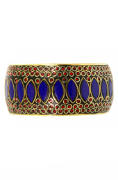Vogue Crafts and Designs Pvt. Ltd. manufactures Tribal Blue and Red Bangle at wholesale price.