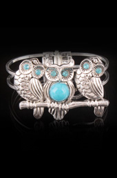 Vogue Crafts and Designs Pvt. Ltd. manufactures Bunch of Owls Bracelet at wholesale price.