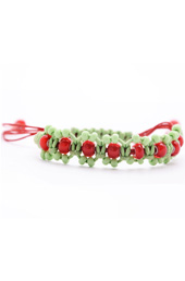 Vogue Crafts and Designs Pvt. Ltd. manufactures Trapped in Green Bracelet at wholesale price.