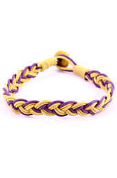 Vogue Crafts and Designs Pvt. Ltd. manufactures Braided Thread Bracelet at wholesale price.
