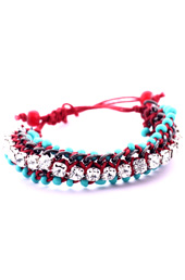 Vogue Crafts and Designs Pvt. Ltd. manufactures Chains and Stones Bracelet at wholesale price.
