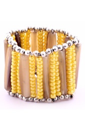Vogue Crafts and Designs Pvt. Ltd. manufactures Horn Sticks and Yellow Bracelet at wholesale price.