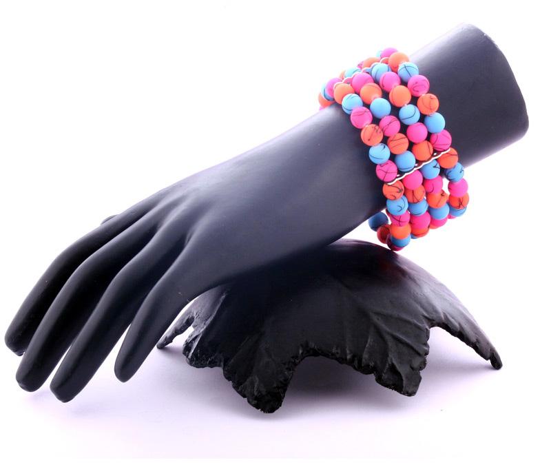 Vogue Crafts & Designs Pvt. Ltd. manufactures Cluster of Neon Bracelet at wholesale price.