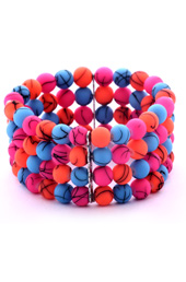 Vogue Crafts and Designs Pvt. Ltd. manufactures Cluster of Neon Bracelet at wholesale price.