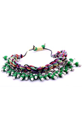 Vogue Crafts and Designs Pvt. Ltd. manufactures Fall of Green Bracelet at wholesale price.