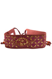Vogue Crafts and Designs Pvt. Ltd. manufactures Kantha Work Belt at wholesale price.