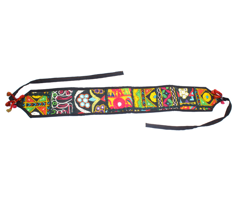 Vogue Crafts & Designs Pvt. Ltd. manufactures Floral Embroidery Belt at wholesale price.