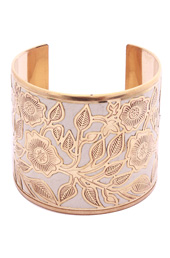 Vogue Crafts and Designs Pvt. Ltd. manufactures Floral Overload Cuff at wholesale price.