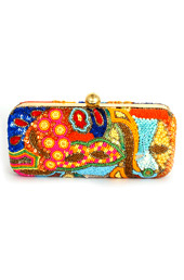 Vogue Crafts and Designs Pvt. Ltd. manufactures Color Mania Box Clutch at wholesale price.
