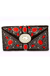 Dots of Red Envelope Clutch