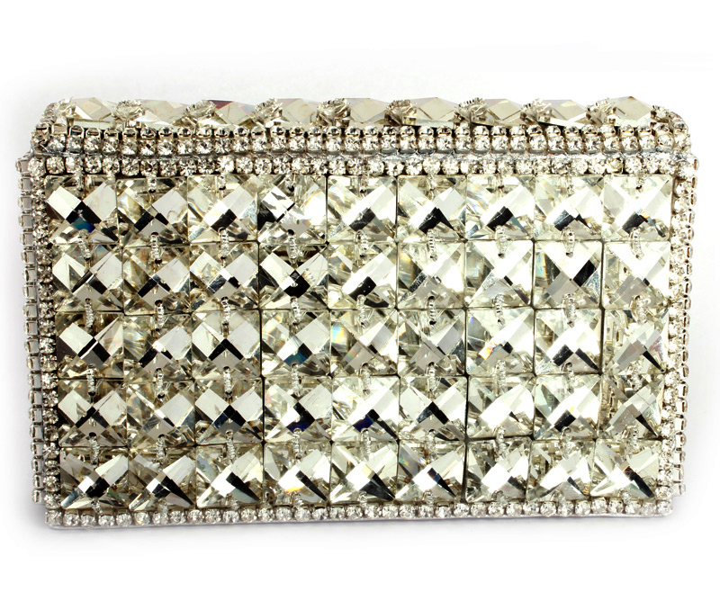 Vogue Crafts & Designs Pvt. Ltd. manufactures The Sparkler Box Clutch at wholesale price.