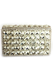 Vogue Crafts and Designs Pvt. Ltd. manufactures The Sparkler Box Clutch at wholesale price.