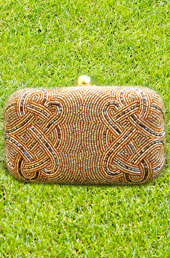 Vogue Crafts and Designs Pvt. Ltd. manufactures Vivid Design Clutch at wholesale price.