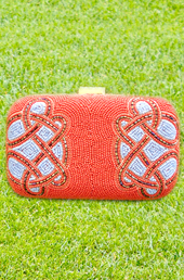 Vogue Crafts and Designs Pvt. Ltd. manufactures The Aura Clutch at wholesale price.