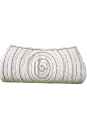 Vogue Crafts and Designs Pvt. Ltd. manufactures White Beady Clutch at wholesale price.