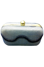 Vogue Crafts and Designs Pvt. Ltd. manufactures Beady Silver Clutch at wholesale price.