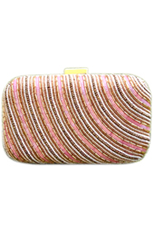 Vogue Crafts and Designs Pvt. Ltd. manufactures The Beady Horizon Clutch at wholesale price.