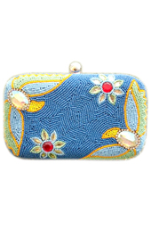Vogue Crafts and Designs Pvt. Ltd. manufactures The Flower Clutch at wholesale price.