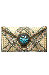 Vogue Crafts and Designs Pvt. Ltd. manufactures The Cream Partywear Clutch at wholesale price.