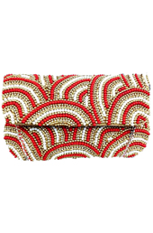 Vogue Crafts and Designs Pvt. Ltd. manufactures The Extravaganza Clutch at wholesale price.