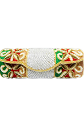 Vogue Crafts and Designs Pvt. Ltd. manufactures The Indian Bride Clutch at wholesale price.