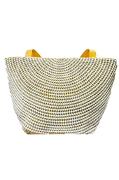 Vogue Crafts and Designs Pvt. Ltd. manufactures The Pearl Grid Bag at wholesale price.