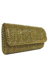 Vogue Crafts and Designs Pvt. Ltd. manufactures The Sleek Gold Clutch at wholesale price.