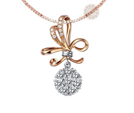 Vogue Crafts and Designs Pvt. Ltd. manufactures Vintage Diamond and Gold Pendant at wholesale price.