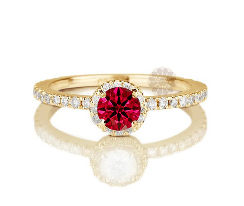 Vogue Crafts & Designs Pvt. Ltd. manufactures Diamond and Ruby Ring at wholesale price.