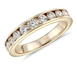 Vogue Crafts and Designs Pvt. Ltd. manufactures Gold and Diamond Wedding Ring at wholesale price.
