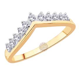 Vogue Crafts and Designs Pvt. Ltd. manufactures Designer Gold Ring at wholesale price.